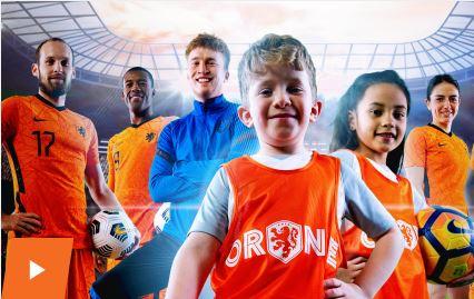 Oranjefestival voor jongens