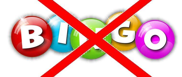 Bingo 28-03-2020 is afgelast