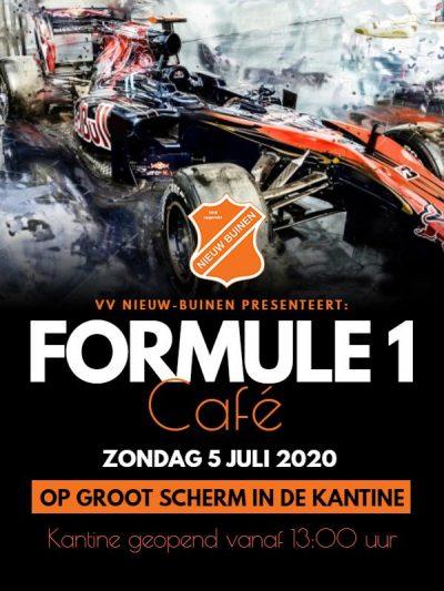 Formule 1 Cafe bij vv Nieuw Buinen