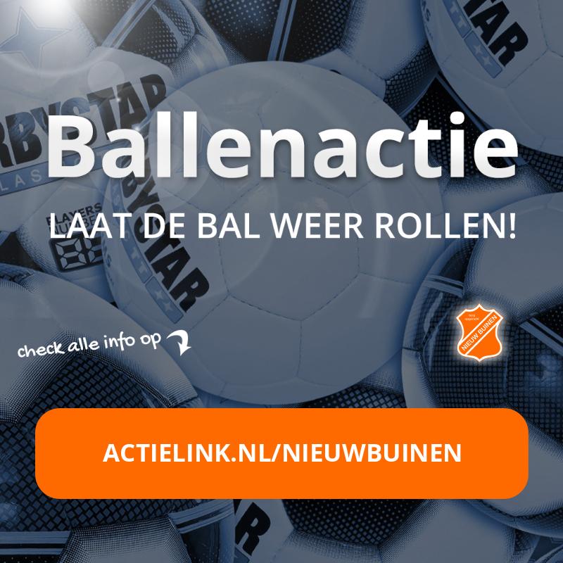 Ballenactie voor komend seizoen