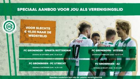 Met korting naar FC Groningen - AZ