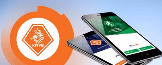 Pasfoto in Voetbal.nl app uploaden en aanpassen